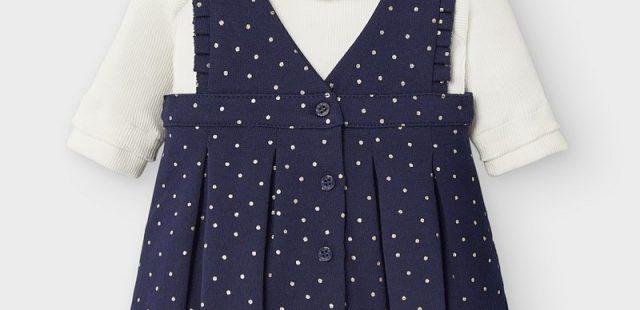 Hübsche Baby Kleidchen zum Fest