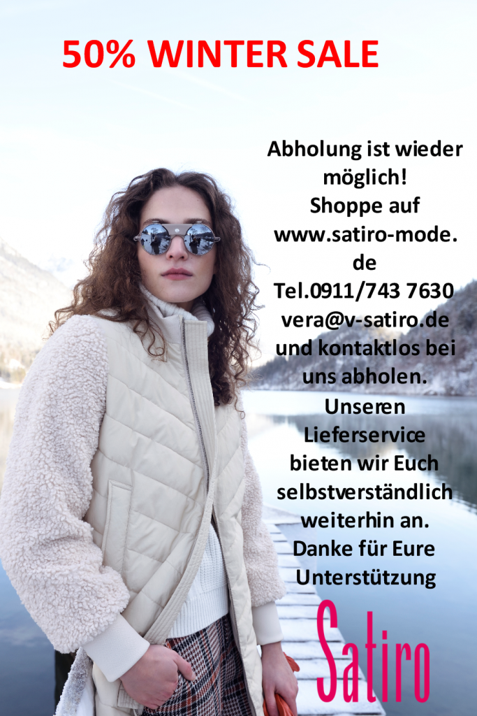 Fashion SALE 50% mit Click and Collect